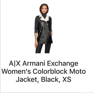 A/X Armani Exchange Women Colorblock Moro Jacket